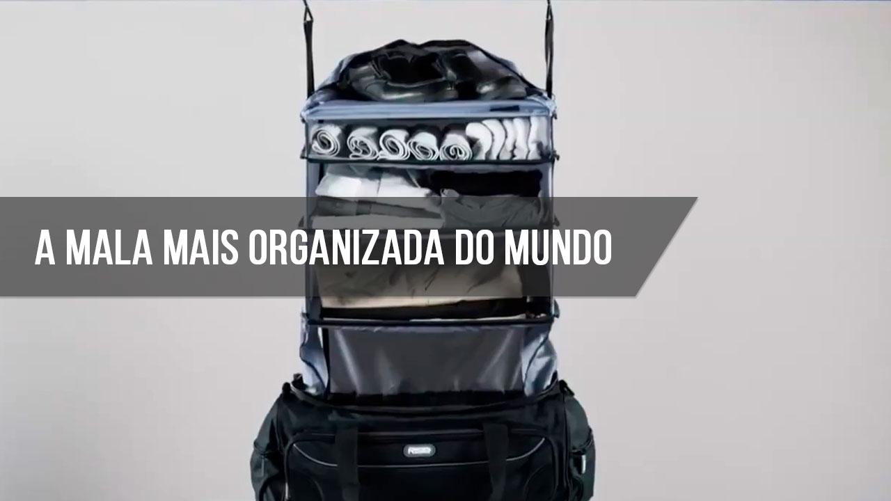A mala mais organizada do mundo