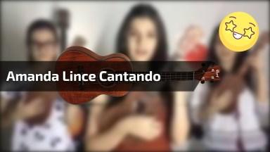 Amanda Lince Cantando Trem Bala Com Suas 'Duas Irmãs Gêmeas'!