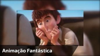 Animação Fantastica Da Pixar, Vale A Pena Paras Por Alguns Instantes E Ver!