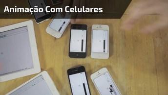 Animação Feita Com Celulares E Tablets, O Resultado Ficou Muito Legal!
