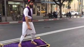 Aposto Que Você Nunca Viu Um Skate Desses, Muito Legal A Ideia!
