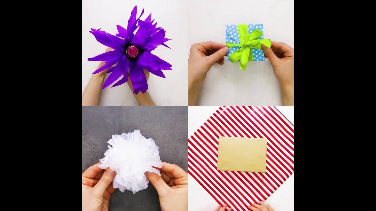 Aprenda a embrulhar presentes de um jeito que o embrulho chame mais a atenção