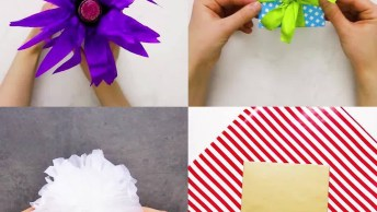 Aprenda A Embrulhar Presentes De Um Jeito Que O Embrulho Chame Mais A Atenção!
