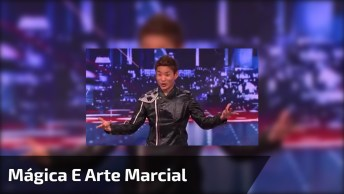 Apresentação Impecável Com Uma Mistura De Mágica, Arte Marcial E Dança!