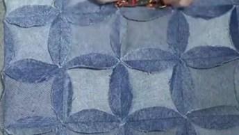 Aproveitando Jeans Reciclados, Transforme Em Lindos Tapetes!