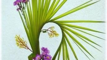 Arranjos De Flores Belicismos, Com A Até De Ikebana, Confira!