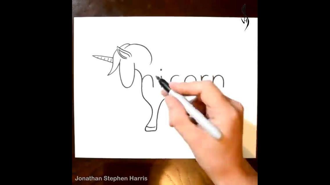 Artistas desenha coisas a partir do nome