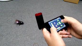 Barata Controlada Pelo Iphone, Com Certeza Você Vai Querer Uma!