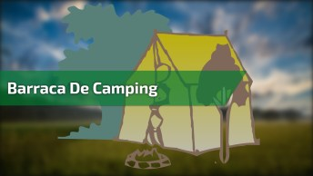 Barraca De Camping Que Tem Armação Inflável, Uma Criação Incrível!