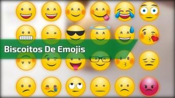 Biscoitos De Emojis, É Cada Um Mais Lindinho Que O Outro!