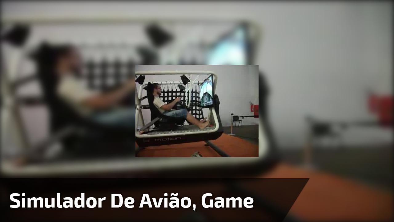 Simulador de avião, game