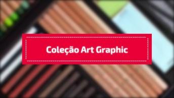 Coleção Art Graphic Da Faber-Castel, Produto Diferenciado Para Um Artista!