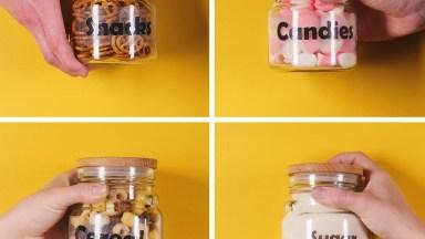 Como Colocar Nomes Em Seus Potes De Vidros De Uma Maneira Bem Simples!