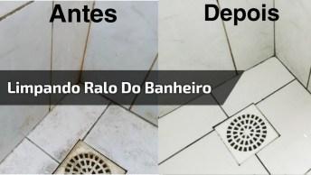 Como Limpar Corretamente Um Ralo De Banheiro? Aprenda Neste Vídeo!