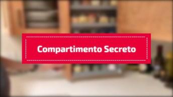 Compartimento Secreto Em Armário, Que Ideia Legal, Confira!