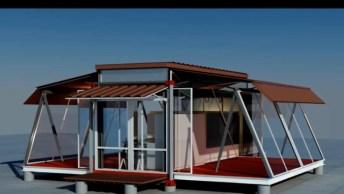 Container Que Se Transforma Em Uma Casa Em 5 Minutos, Que Incrível!