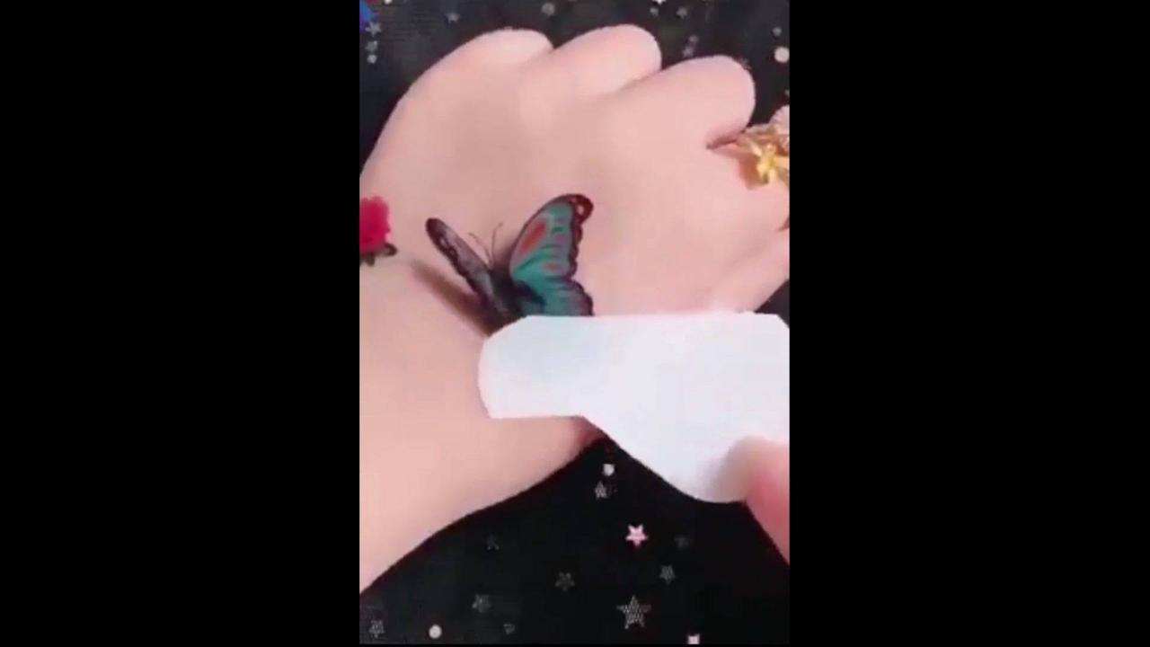 Desenhos que imitam tatuagem