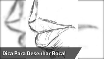 Dica Muito Legal Para Desenhar Boca, Vale A Pena Conferir!