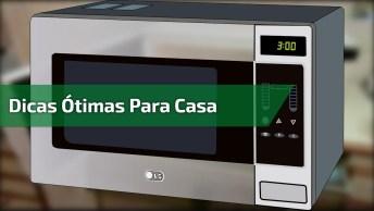 Dicas Para Limpar Maquina De Lavar, Microondas, Formas, E Bijuterias!