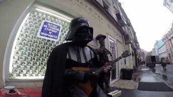Diretamente De Star Wars, Darth Vader De Uma Forma Que Você Nunca Viu!