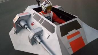 Diretamente Para Os Fãs De Star Wars Essa Fantasia Incrível De Uma De Suas Naves