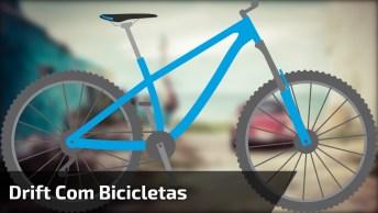 Drift Com Bicicletas, Veja Que Manobras Arriscadas Desses Meninos!