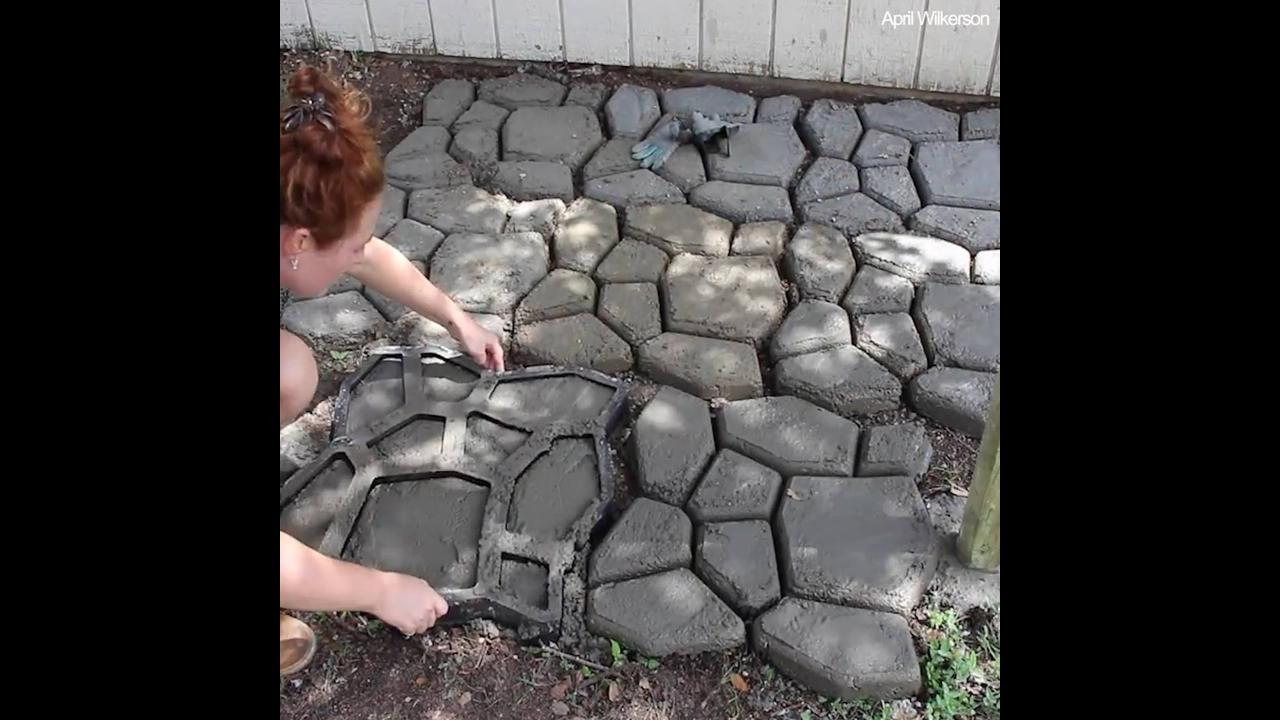 Ducha para quintal criativa