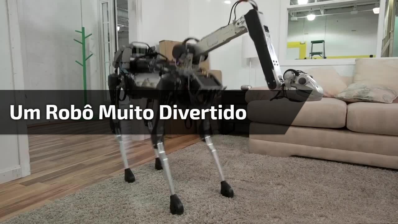Um robô muito divertido