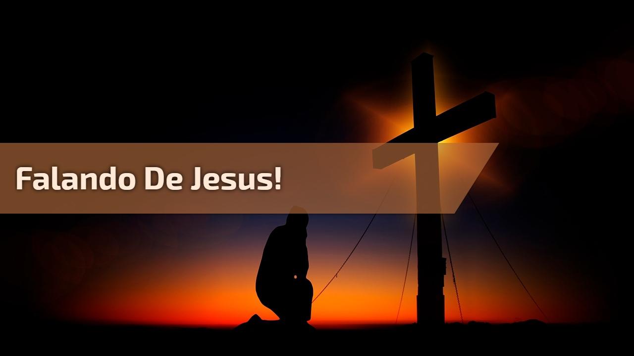 Falando de Jesus e brincando, compartilhe com seus amigos do Facebook!