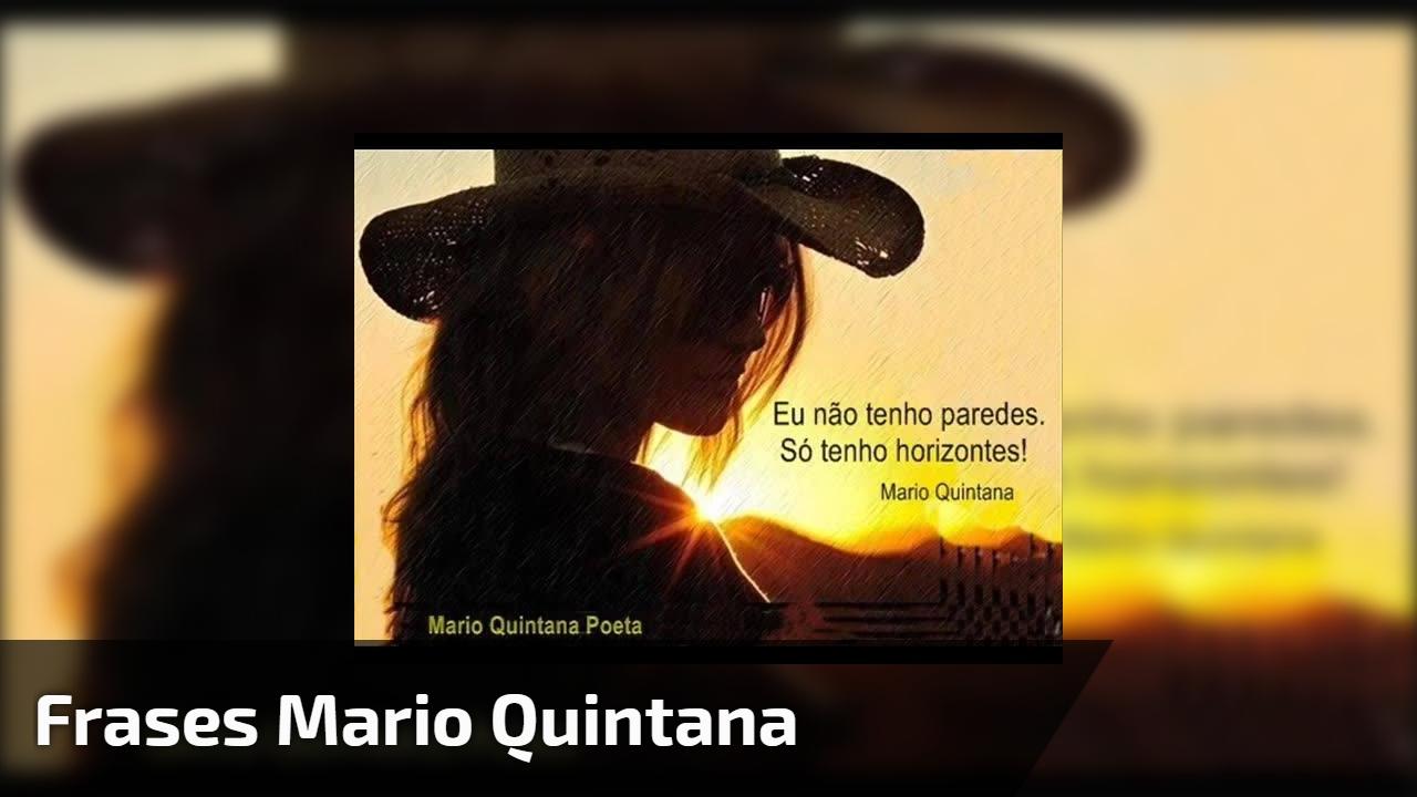 Frases Mario Quintana Um Grande Poeta Tradutor E