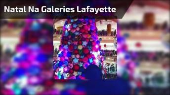Galeries Lafayette Em Paris Um Dos Lugares Mais Belos Para Se Visitar No Natal!