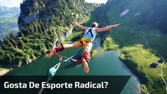 Gosta De Esportes Radicais, Que Tal Um Campeonato De Quem Pula Mais Auto?!