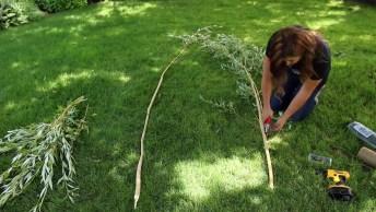 Ideia Muito Legal Para Fazer Em Seu Jardim Para Plantas Trepadeiras!