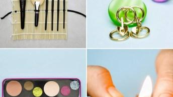 Ideias Para Organizar As Suas Maquiagens E Produtos De Beleza Quando For Viajar!
