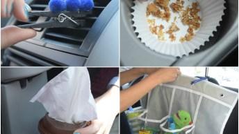 Ideias Sensacionais Para Deixar Seu Carro Sempre Limpo E Organizado!