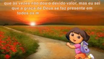 Mensagem De Agradecimento A Deus, Compartilhe No Facebook!