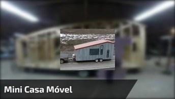 Mini Casa Móvel Para Viajar, Já Imaginou Ter Uma Dessa?