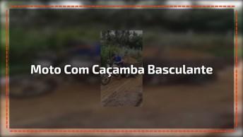 Moto Com Caçamba Basculante, Brasileiro Sempre Dando Um Jeitinho!