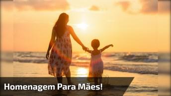 Musica 'Mãe' Com Letra E Música De Sérgio Saas, Com Lindas Imagens!