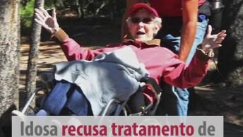 Norma Jean Aos 90 Anos Descobriu Que Estava Com Câncer, Veja O Que Ela Fez!