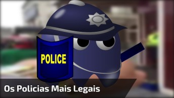 Os Policias Mais Legais Do Mundo São Ingleses, Kkk! Que Bom Humor!