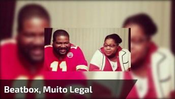 Pai E Filha Fazendo Beatbox, Muito Legal Este Vídeo, Confira!