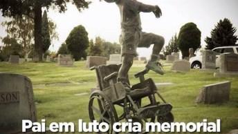 Pai Em Luto Constrói Memorial Emocionante Para Seu Filho Morto!