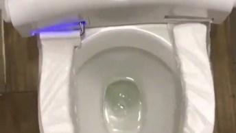 Protetor De Vaso Sanitário Que Troca Sozinho, Olha Só Que Legal!