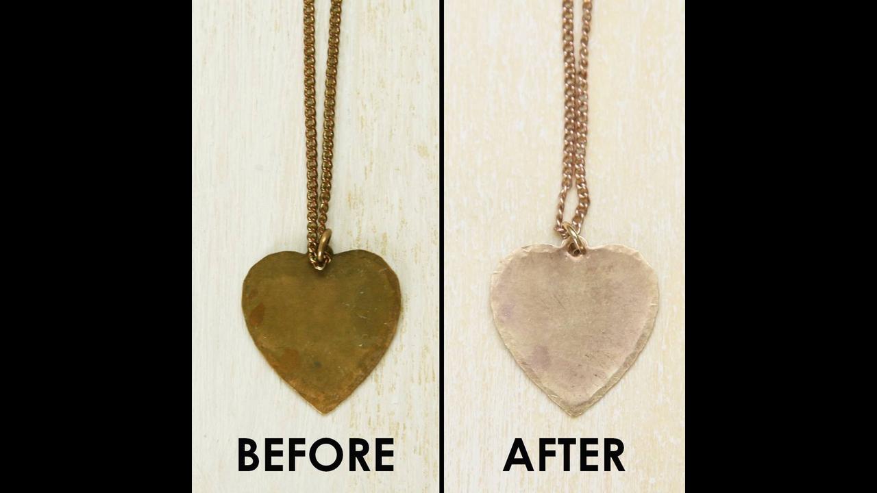 Receita para limpar joias e bijuterias