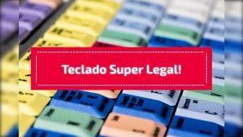 Teclado Super Legal! A Galera Que Gosta De Tecnologia, Vai Se Apaixonar!