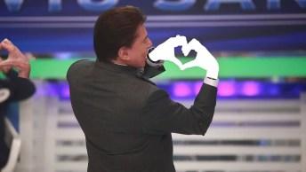 Tente Pausar No Momento Exato Em Que O Silvio Santos Faz O Coração!