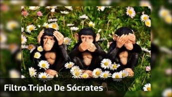 Teste Do Filtro Triplo De Sócrates, Vale Muito A Pena Aprender!