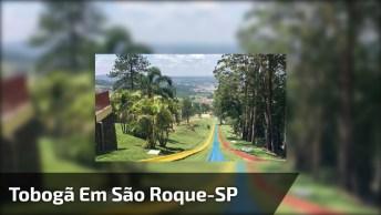 Tobogã Muito Legal No Ski Mountain Park Em São Roque - Sp, Muito Fera!