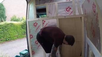 Transformação Do Interior De Uma Van, Ficou Maravilhosa, Confira!